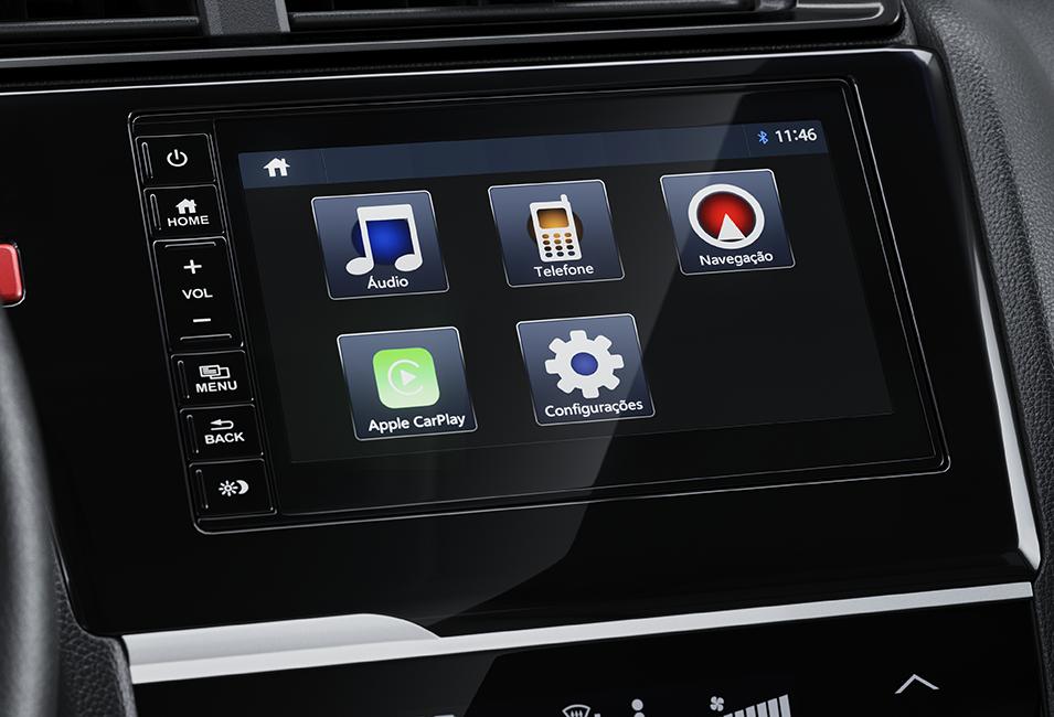 """Multimídia de 7"""" TouchScreen"""