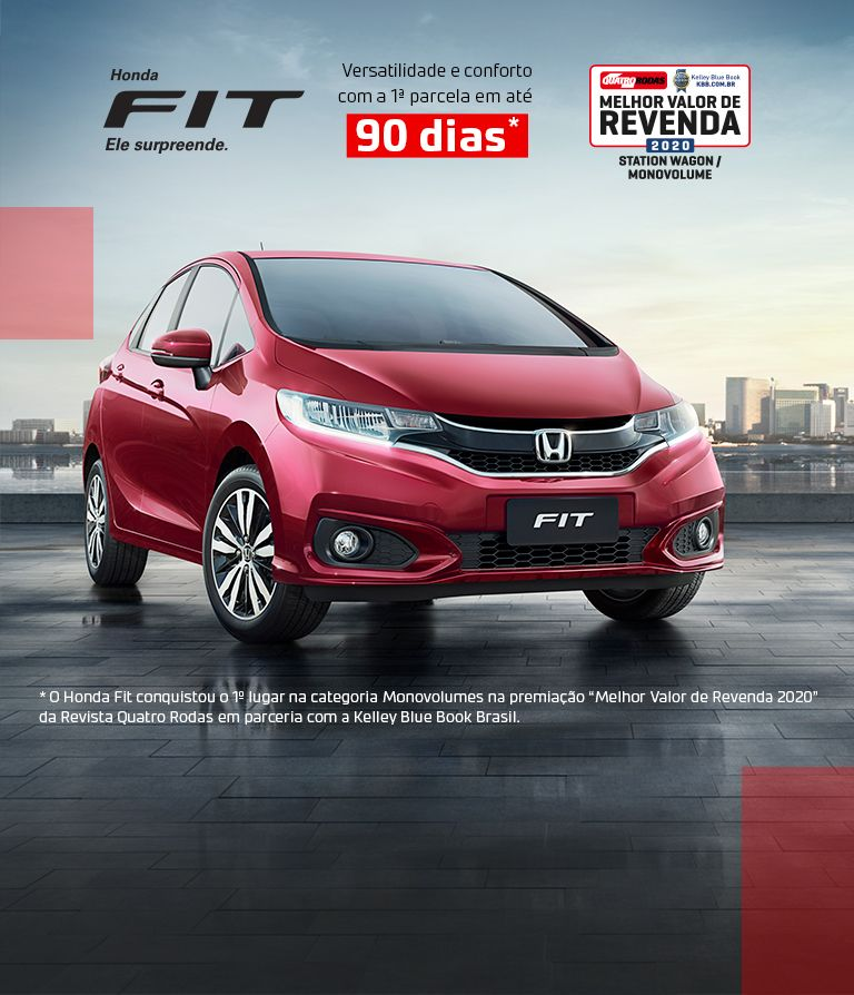 Banner Honda Fit desk