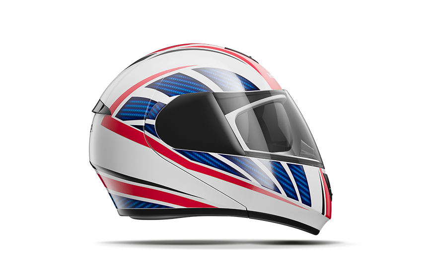 capacetes hms honda motocicletas