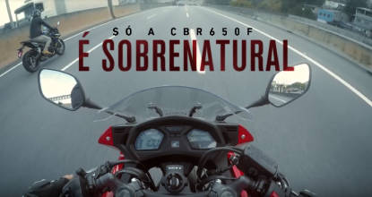 Honda CBR 650F - Test Ride Sobrenatural - Adriana