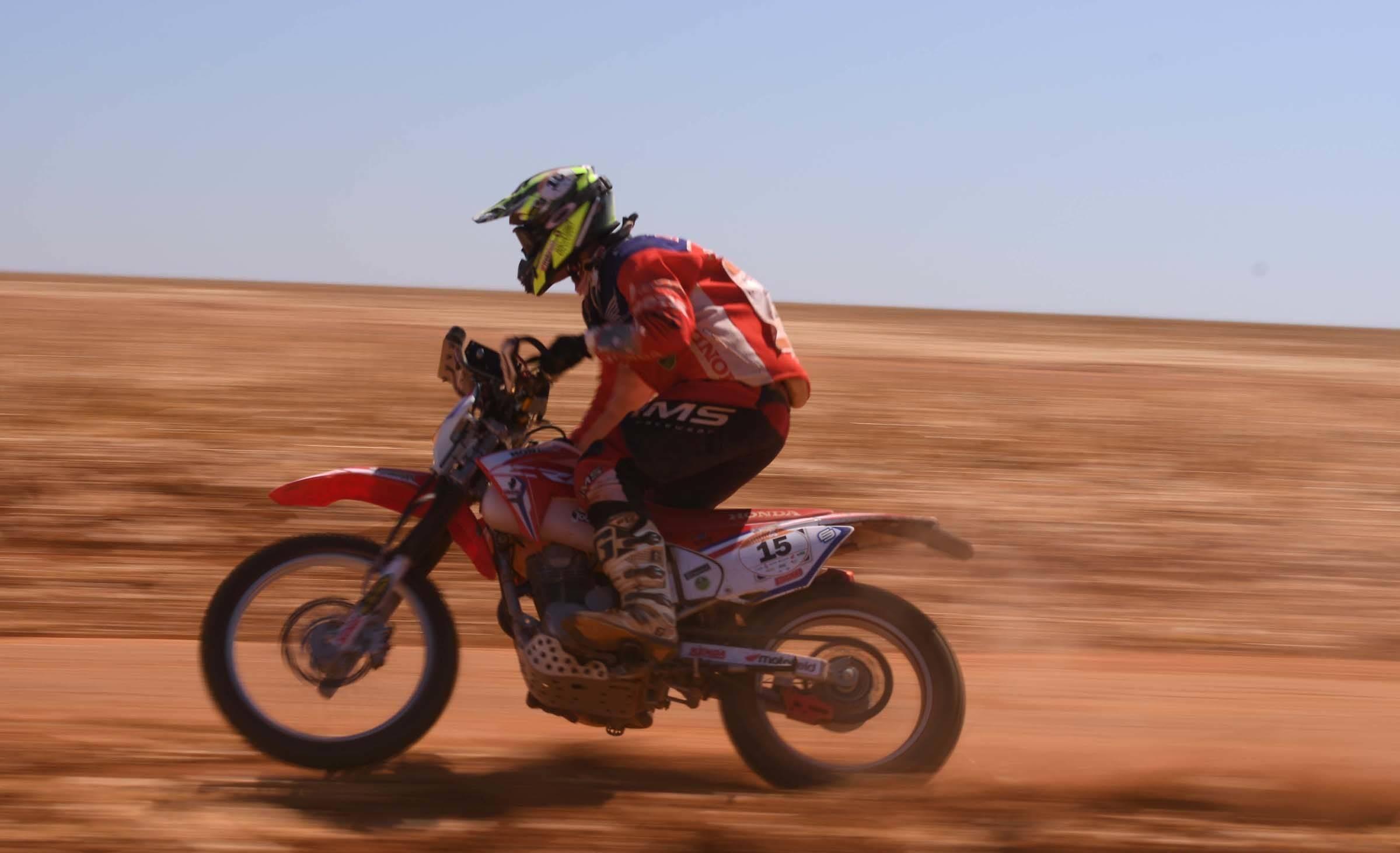 Off Road Honda Motos