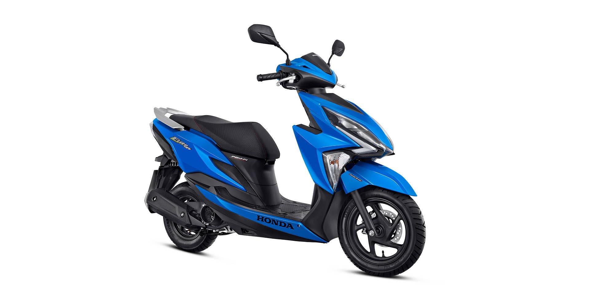 azul34 - Moto Honda Motopel