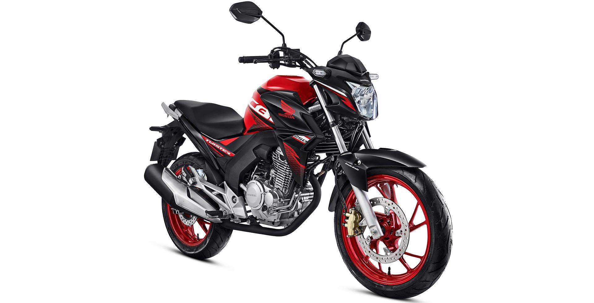 cb twister vermelho1 - Moto Honda Motopel