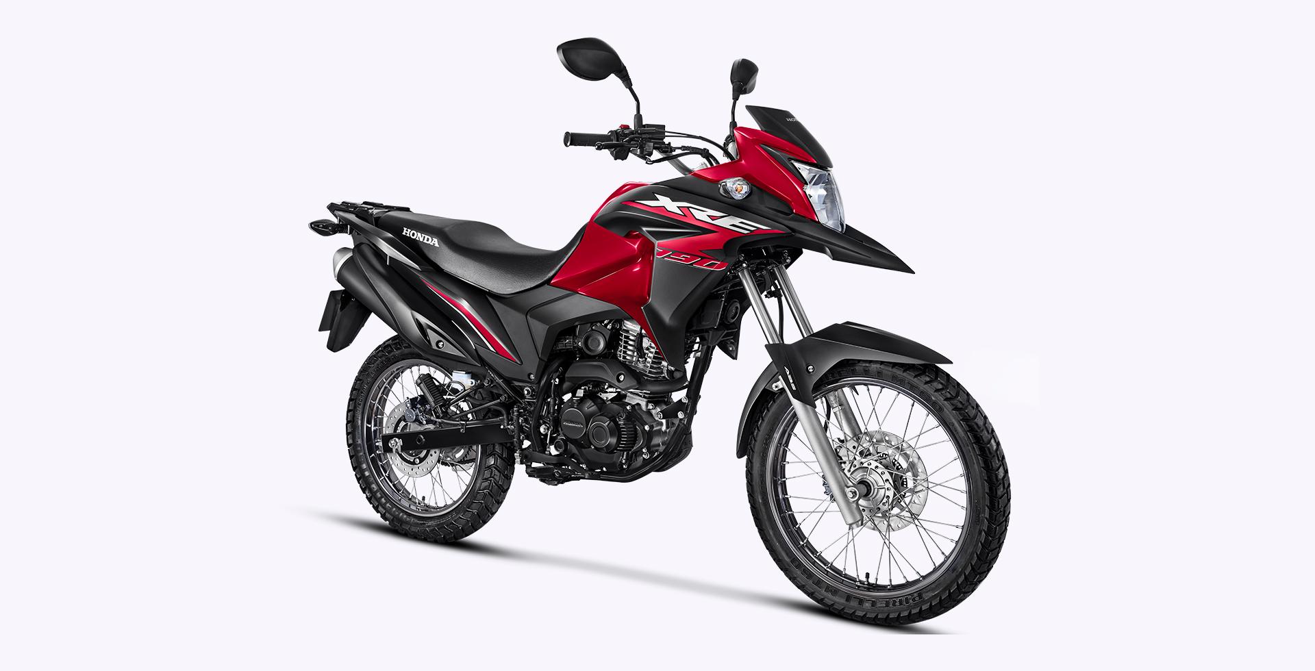 xre190 vermelha 3 - Moto Honda Motopel