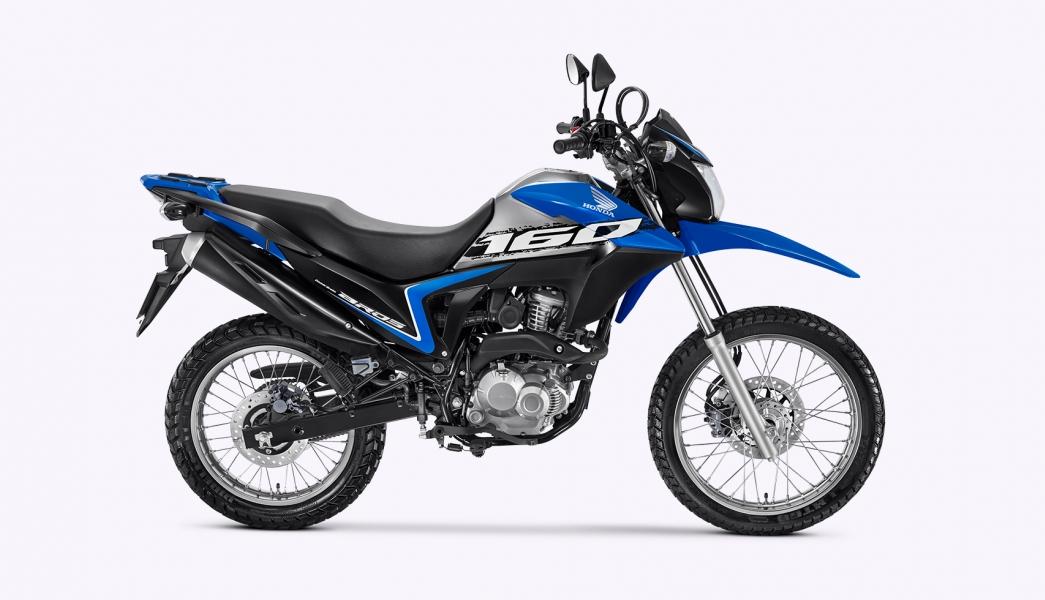 07 azul - Moto Honda Motopel