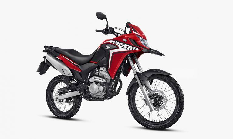 Xre Vermelha on Motos Honda Xr 300
